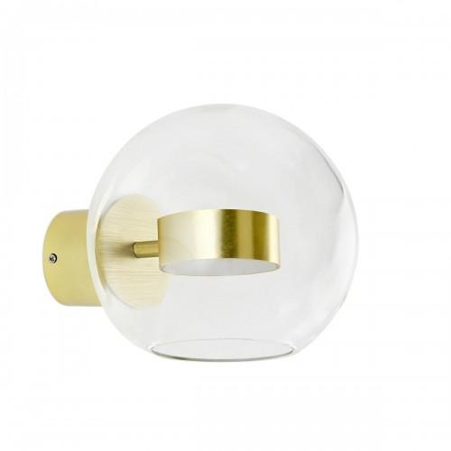 Kinkiet CAPRI WALL 1 złoty - LED, aluminium, szkło