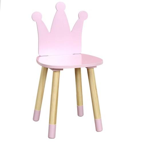 Krzesło dziecięce Puppe różowe