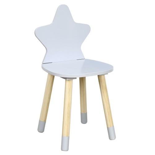 Krzesło dziecięce Puppe szare