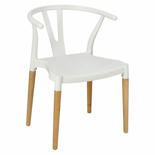 Krzesło Wicker PP Simplet białe