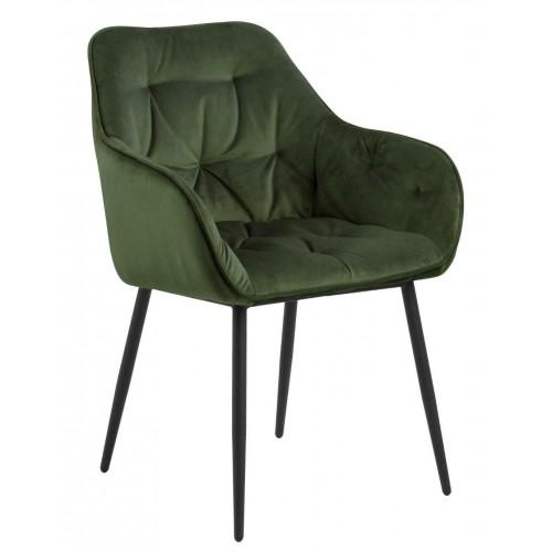Krzesło Brooke VIC Forest Green