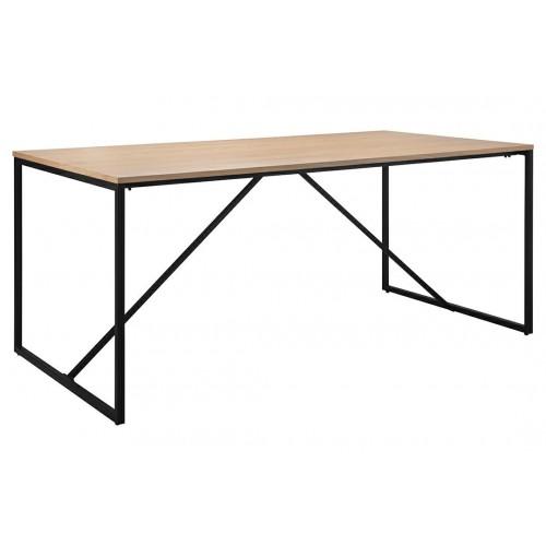 Stół LOFT dąb - MDF fornirowany, metal