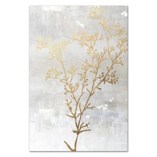 Obraz Złote kwiaty 2