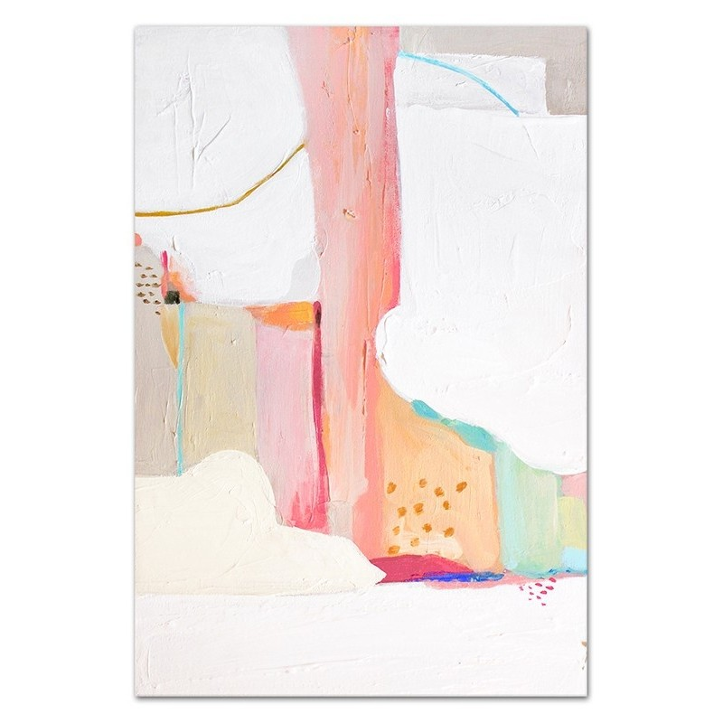 Obraz Abstrakcja Pink 7