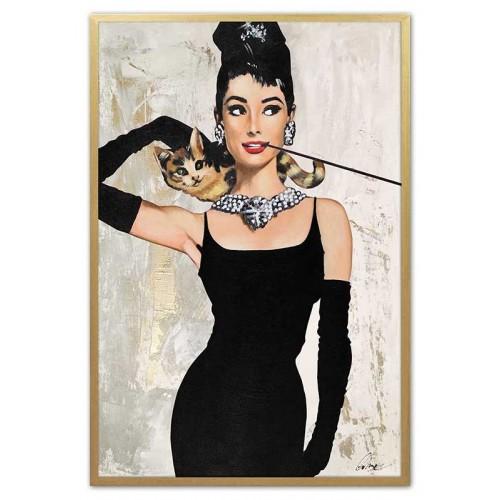 Obraz Złota Audrey