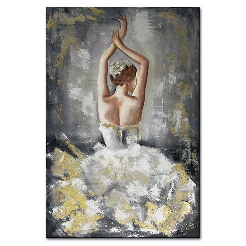 Obraz Złota Baletnica 2