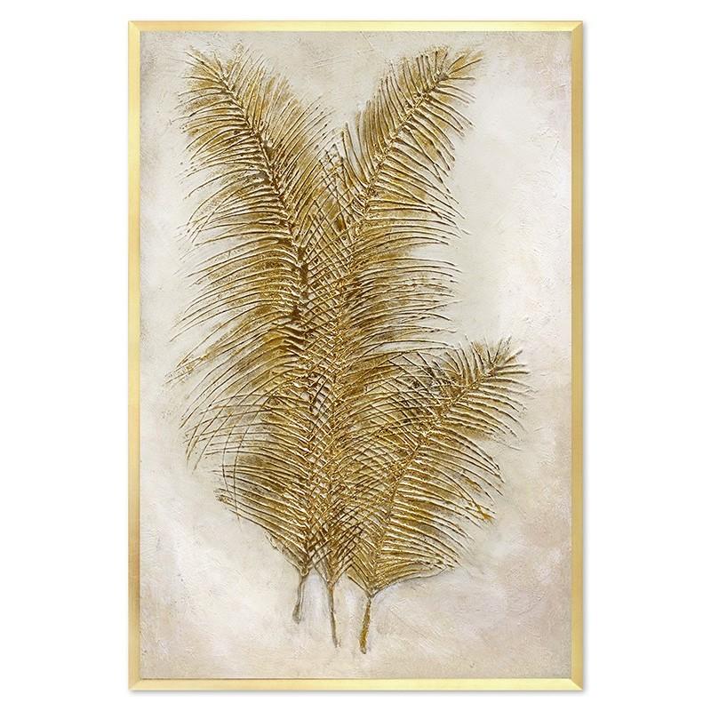 Obraz Złote liście