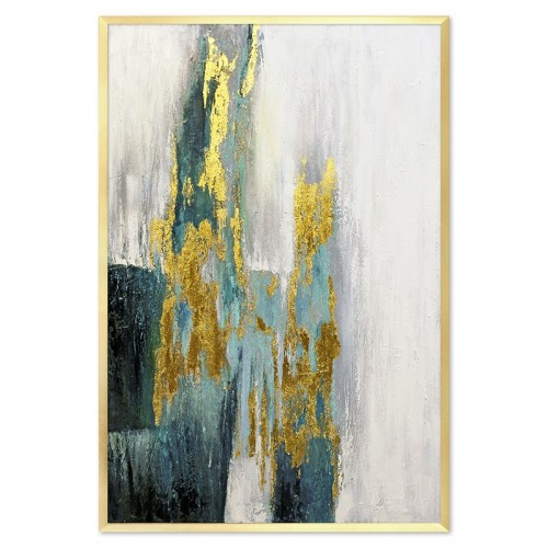 Obraz Abstrakcja Złota poświata