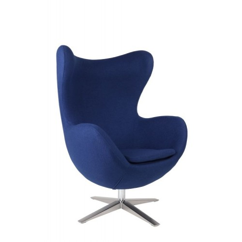 Fotel Jajo Soft wełna niebieska 2729