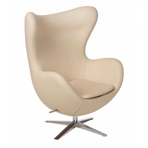 Fotel Jajo Soft skóra ekologiczna 532 beżowy