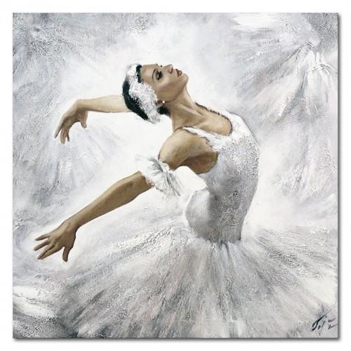 Obraz Baletnica Biały łabędź