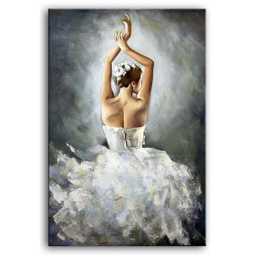 Obraz Srebrna Baletnica