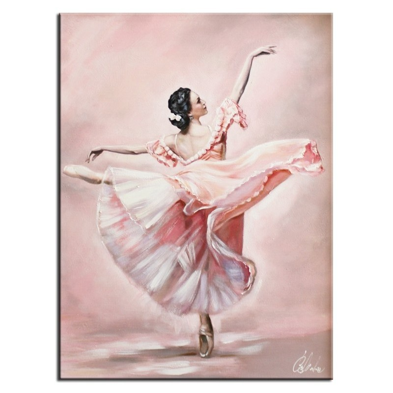 Obraz Różowa Baletnica