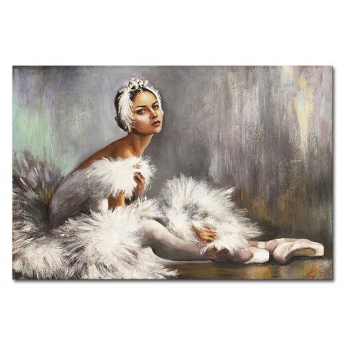 Obraz Baletnica Biały łabędź 2
