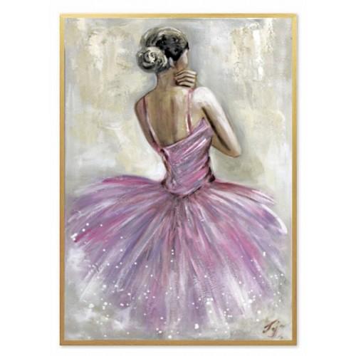 Obraz Baletnica w różu