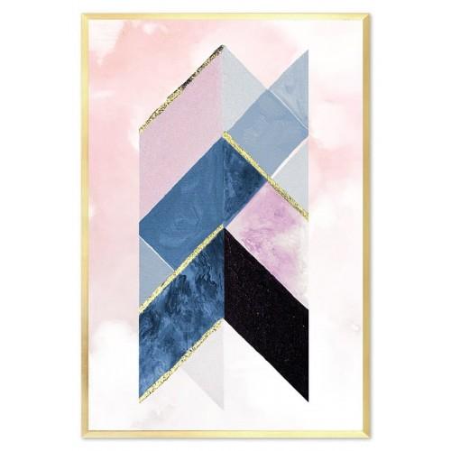 Obraz Abstrakcja Crystal 3