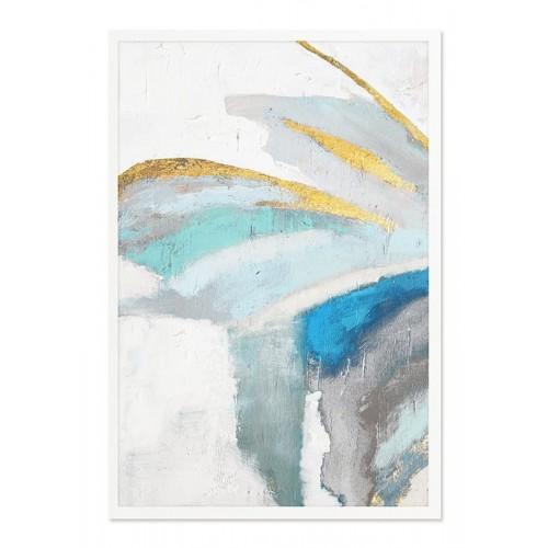 Obraz Abstrakcja Blue Velvet 1
