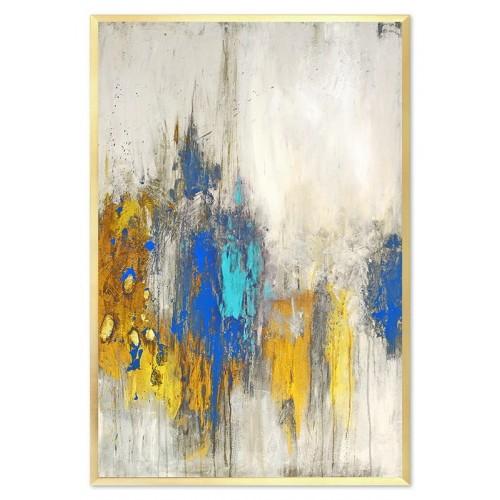 Obraz Abstrakcja Blue Velvet 2