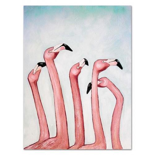 Obraz Różowe flamingi 1