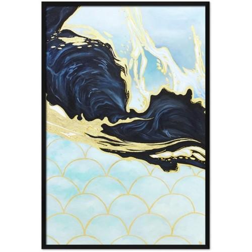 Obraz Abstrakcja Art Blue 1