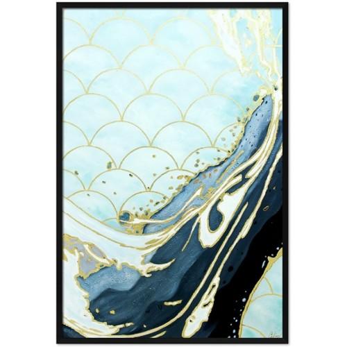 Obraz Abstrakcja Art Blue 2