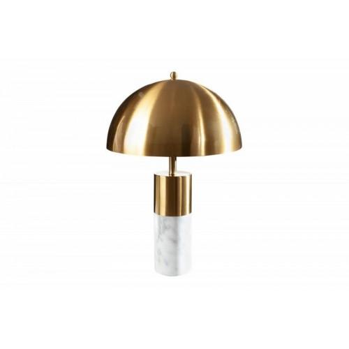 INVICTA lampa stołowa BURLESQUE - złota, marmur