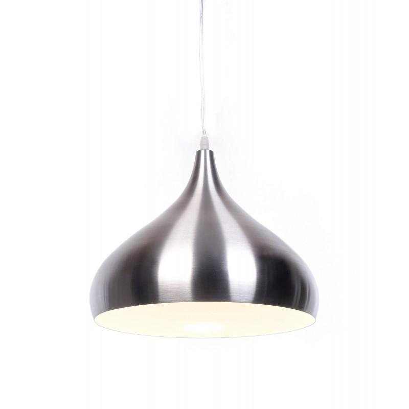 NOWOCZESNA LAMPA WISZĄCA SREBRNA FOLINA