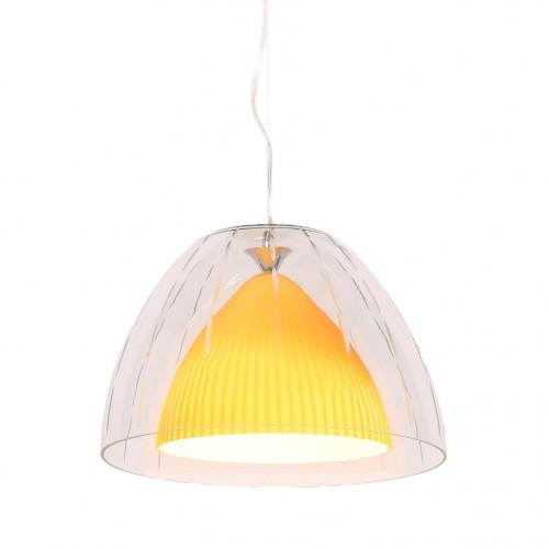 NOWOCZESNA LAMPA WISZĄCA ŻÓŁTA ARVILLA D40