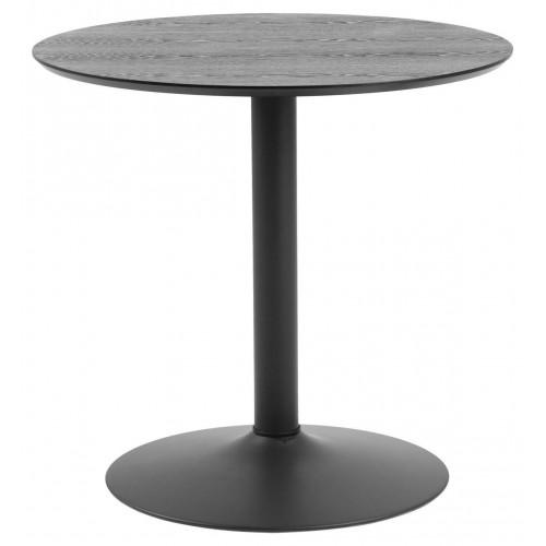 Stół Ibiza okrągły 80 czarny
