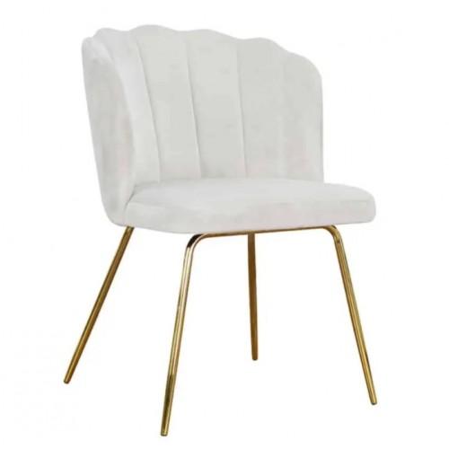 Krzesło Chartum na złotych nogach