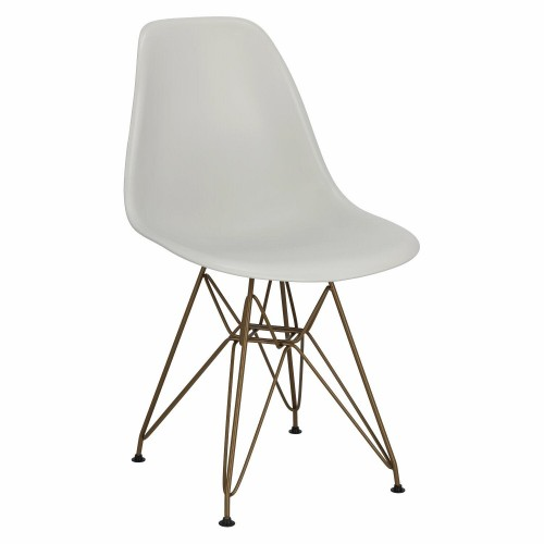 Krzesło P016 PP Gold light grey