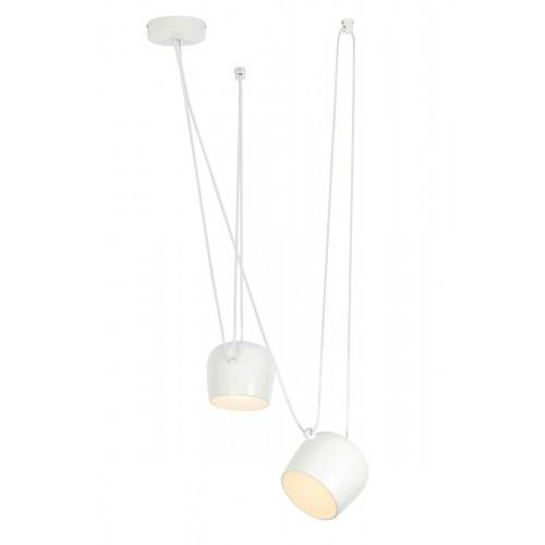 Lampa wisząca EYE 2 biała - LED, aluminium
