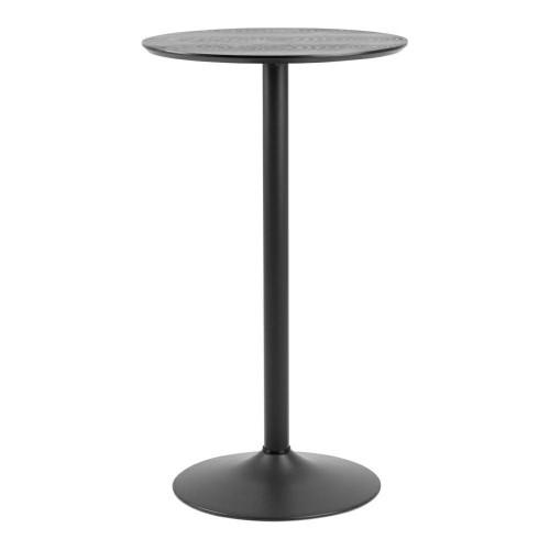 Stół barowy Ibiza czarny
