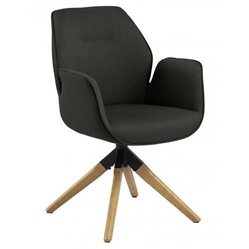 Krzesło obrotowe Aura dark grey auto re turn