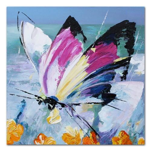 Obraz Abstrakcyjny Motyl