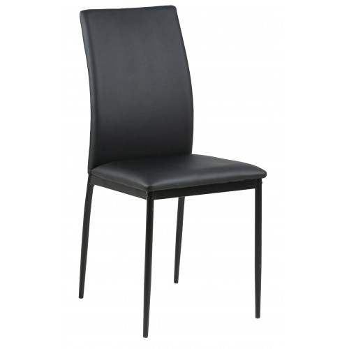 Krzesło Demina black PU
