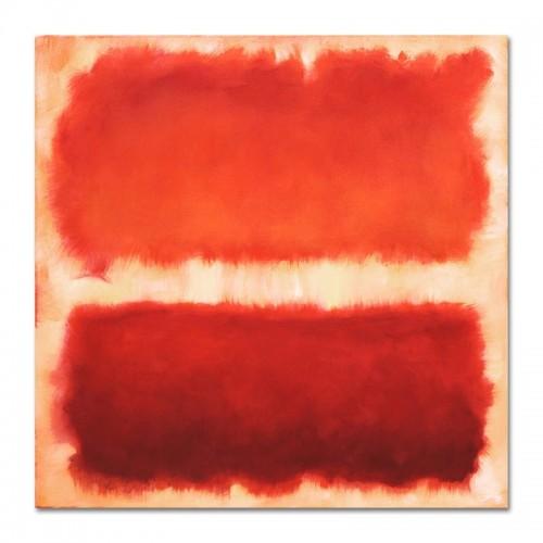 Obraz Czerwony Kwadrat 1