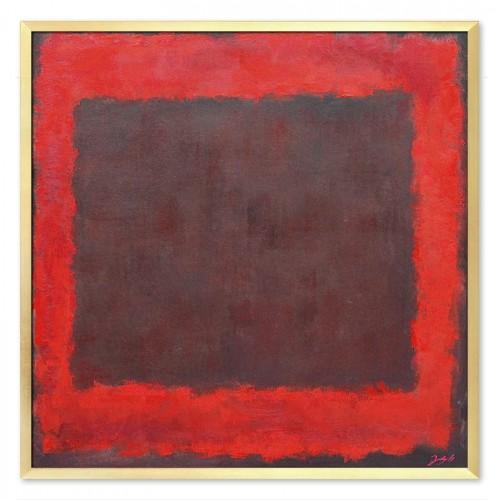 Obraz Czerwony Kwadrat 2