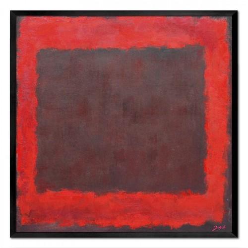 Obraz Czerwony Kwadrat 3