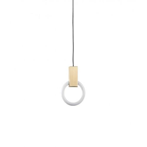 Lampa wisząca HOPP 21 antyczny mosiądz