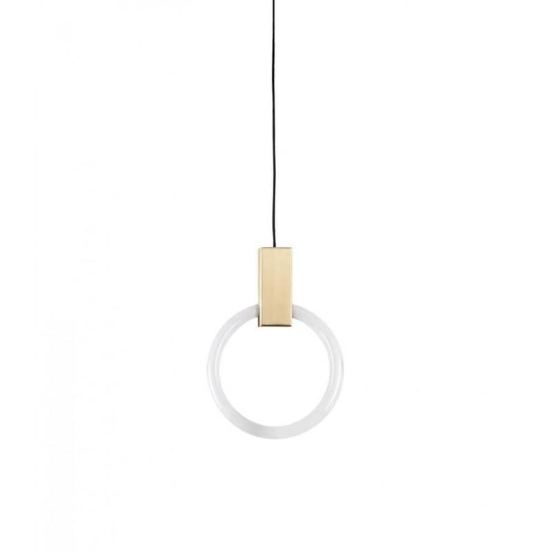 Lampa wisząca HOPP 30 antyczny mosiądz