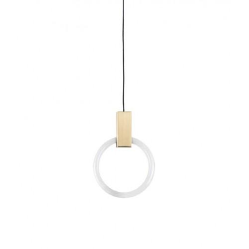 Lampa wisząca HOPP 40 antyczny mosiądz