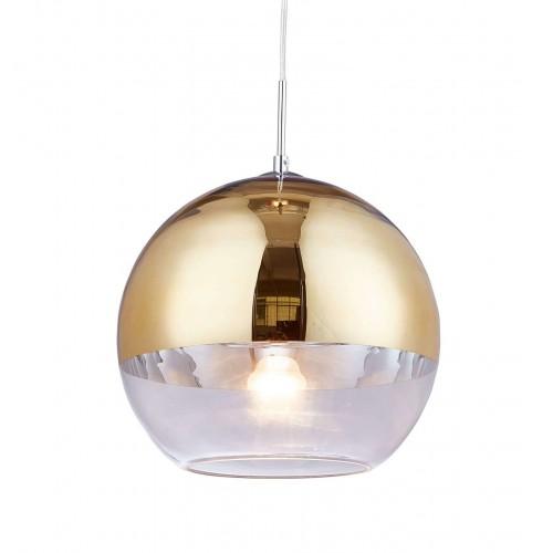 NOWOCZESNA LAMPA WISZĄCA ZŁOTA VERONI D20