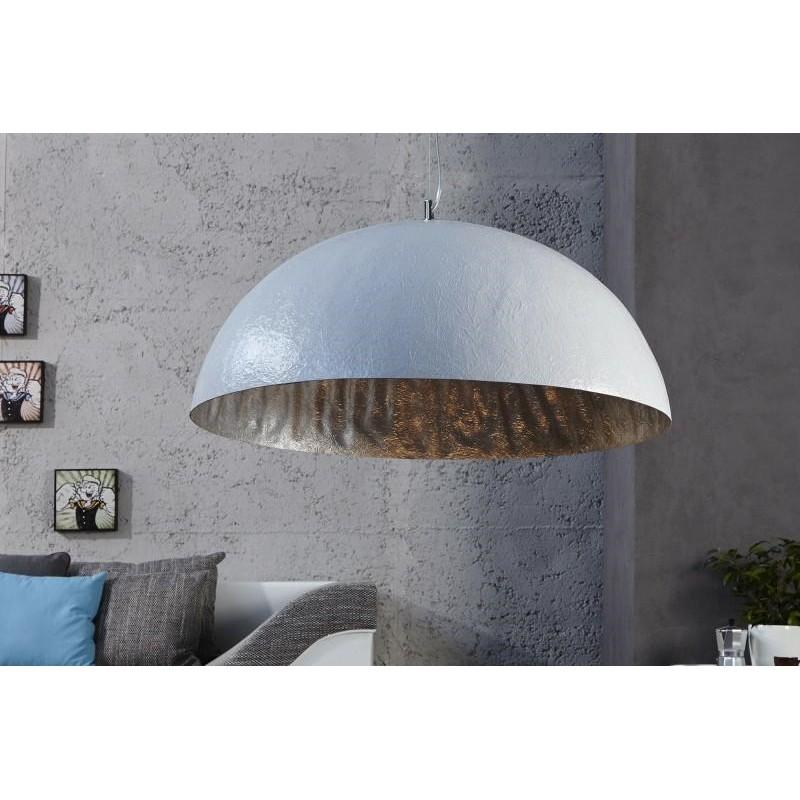 INVICTA lampa wisząca GLOW 50 biały - srebrny