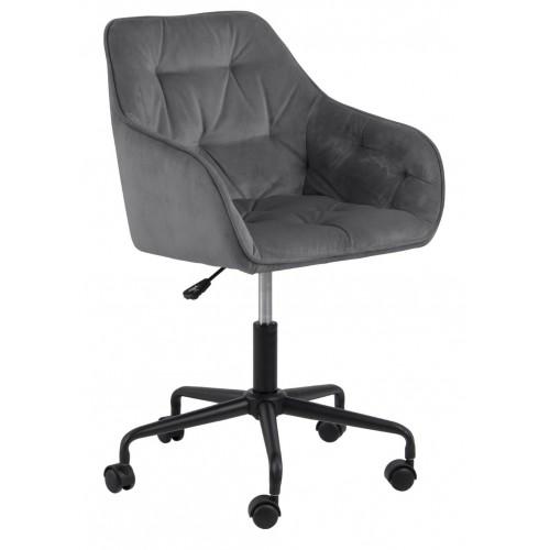 Fotel biurowy Brooke VIC szary jasny
