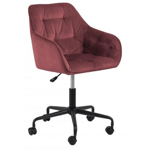 Fotel biurowy Brooke VIC koralowy