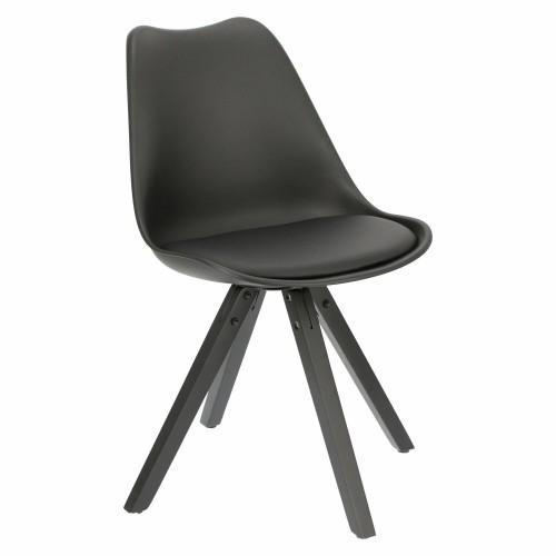 Krzesło Norden Star Square black PP czar ne