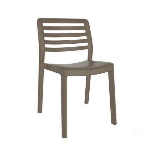 Krzesło Wind brązowe
