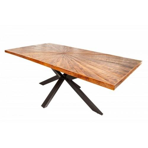 INVICTA stół WOOD ART 200 mango - lite drewno, metal