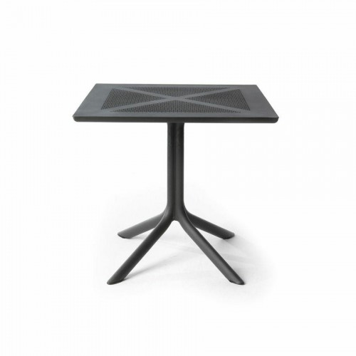 Stół Clip X 80x80 antracyt